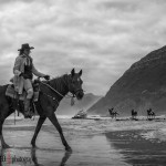 Riding Horses on Noordhoek Beach