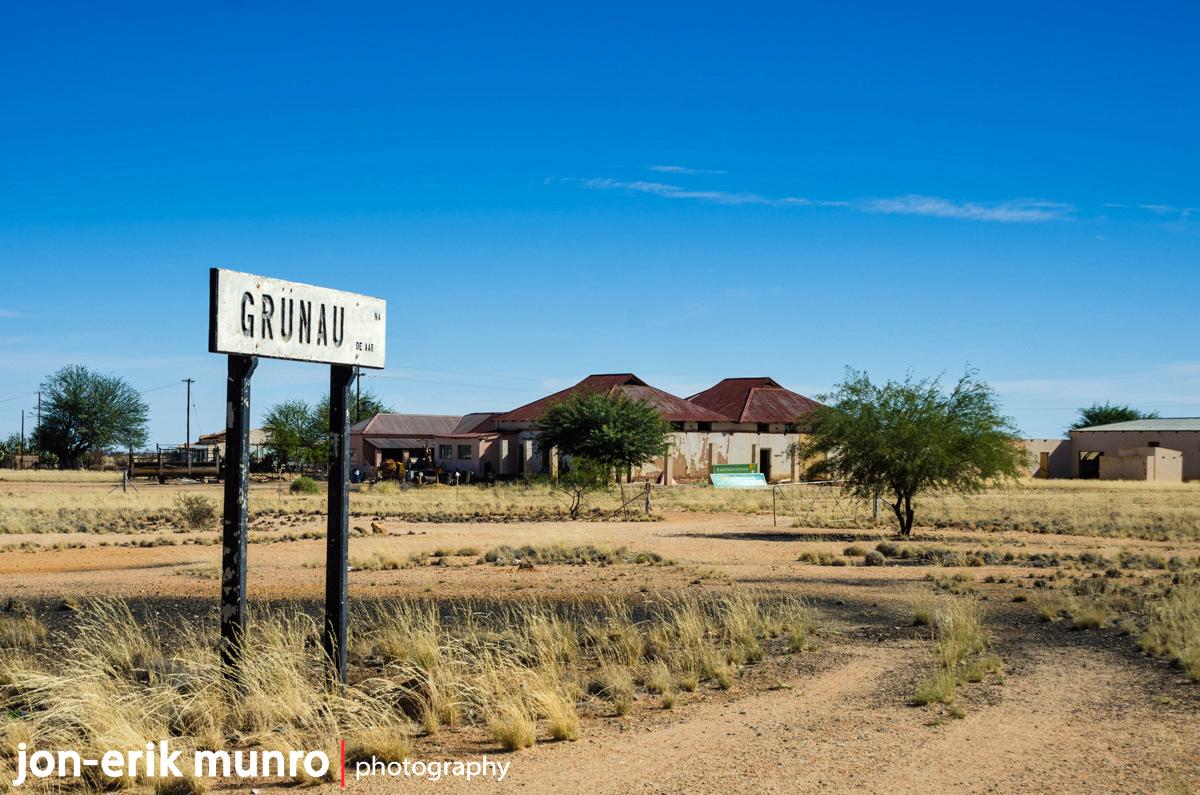 Grunau railway station