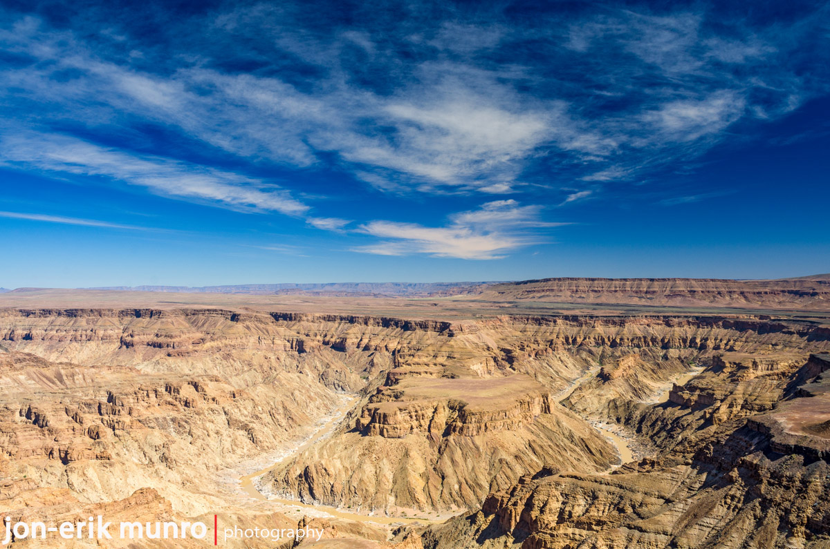 A view of Fish River Canyon