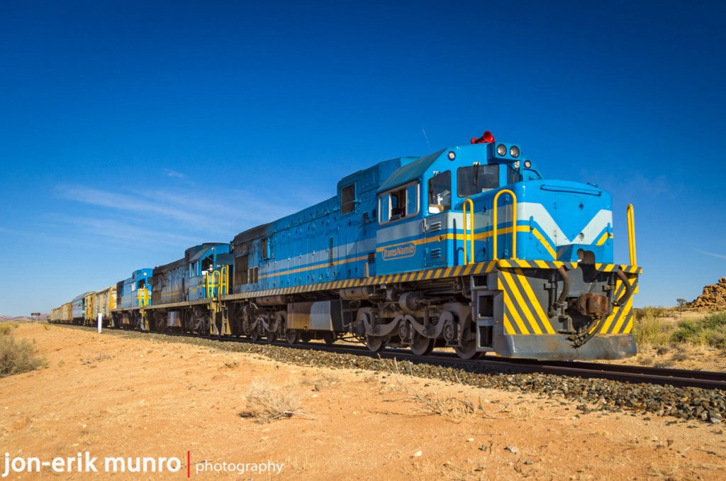 A Trans Namib goods train