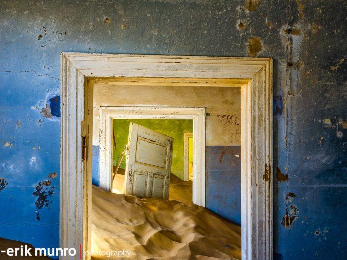 Doorways in Kolmanskop