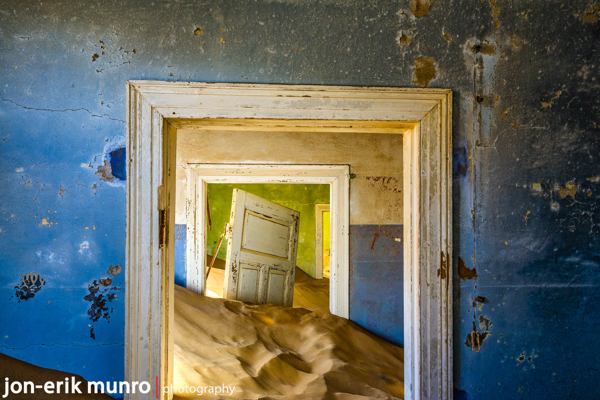 Doorways in Kolmanskop