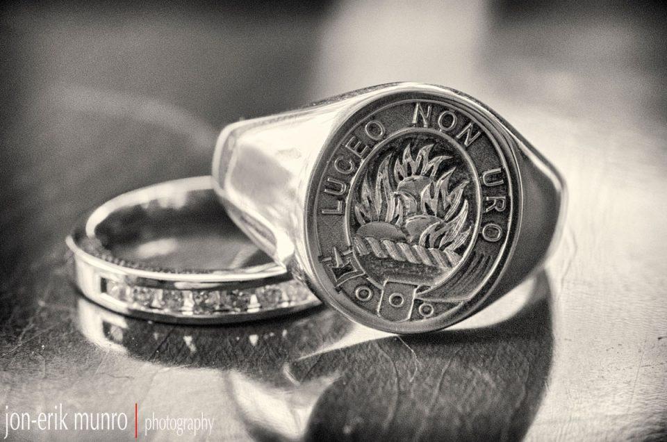 The Dawson Wedding - the rings