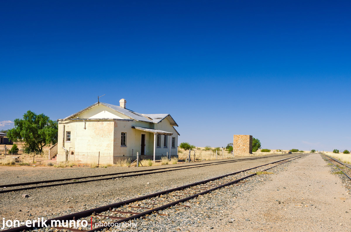 An old railway cottage at Grunau