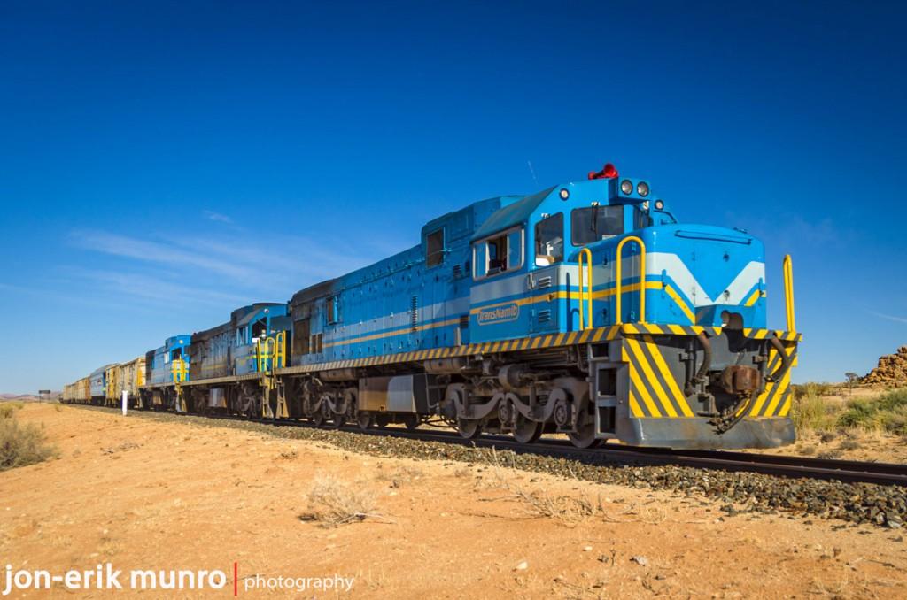 A Trans Namib goods train