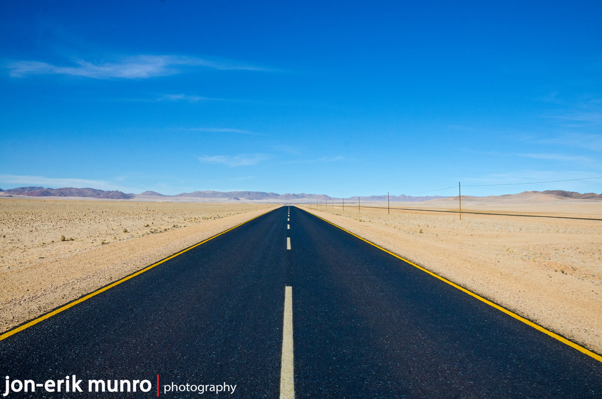 The B4 to Luderitz